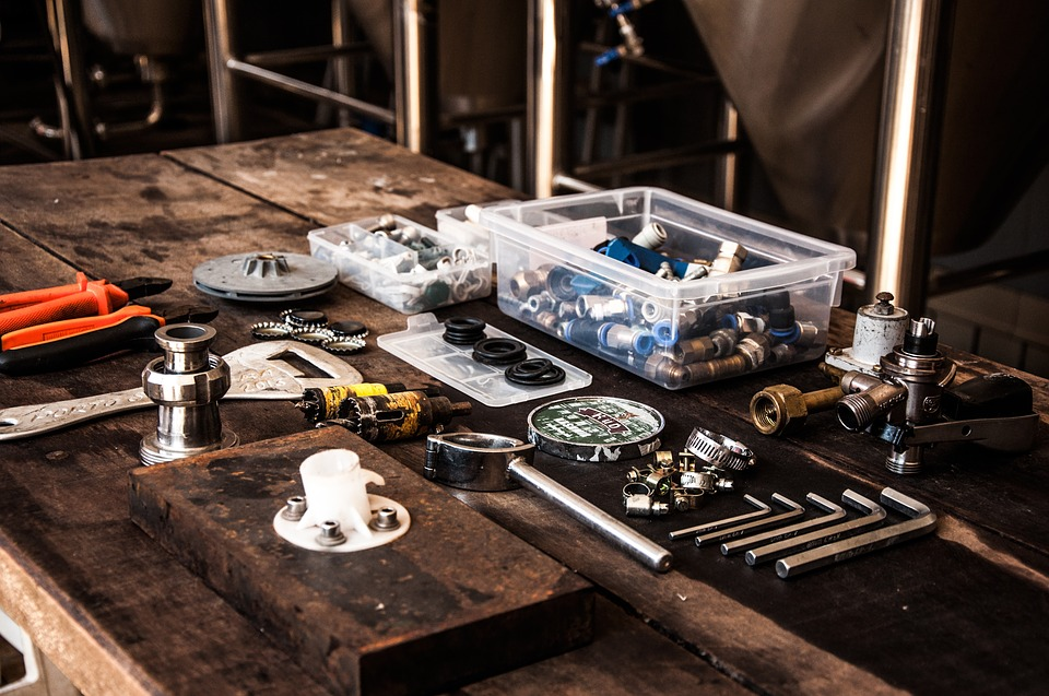 outils de plombier